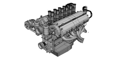 Ferrari V12 - Single Cam | SMCars Net - Car Blueprints Forum